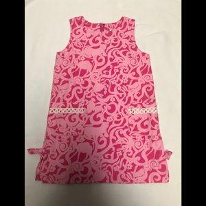 Lilly Pulitzer pink girls dress size 6